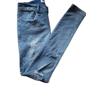 3/25$ Miami skinny  high rise, distressed size 11